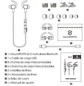 Auriculares Q12